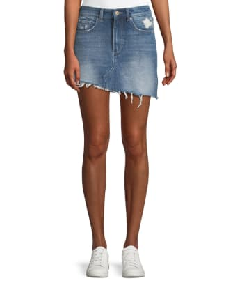 DL1961 denim skirt