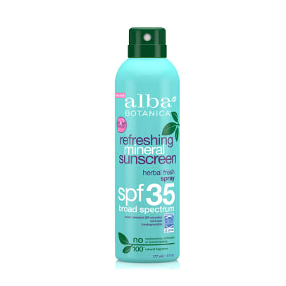 alba refreshing sunscreen
