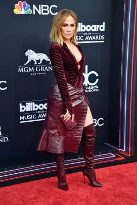 jennifer lopez 2018 billboard music awards red carpet
