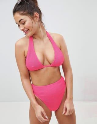 asos-fuller-bust-pink-bikini