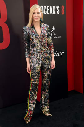 cate blanchett ocean's 8 premiere fashion