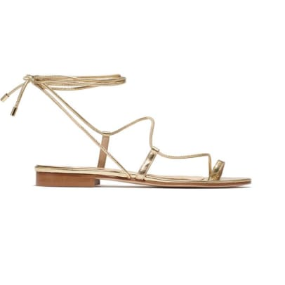 emme parsons gold sandals