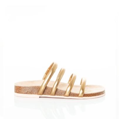 charlotte stone gold sandals