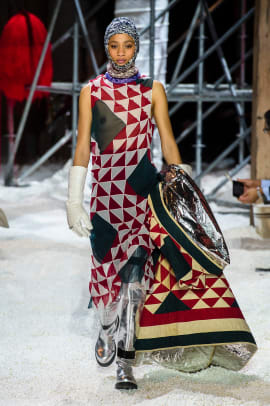 Calvin Klein F18 quilts fashion