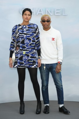 pharrell front row chanel