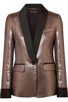 rachel-zoe-metallic-blazer