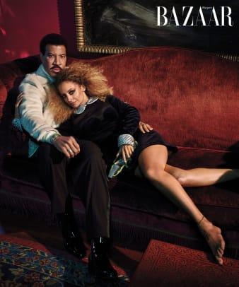 Harper's BAZAAR ICONS - Lionel & Nicole Richie