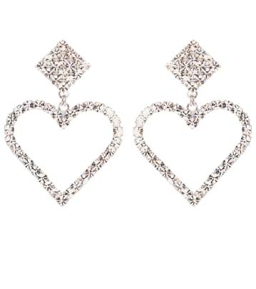alessandra rich crystal earrings