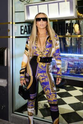 Jennifer Lopez MTV VMAs after party outfits