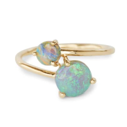 opal jewelry necklace earring ring--8
