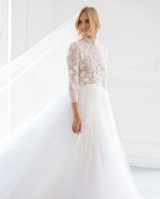 chiara ferragnie dior wedding dress