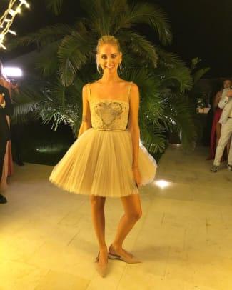 69 Chiara Ferragni Prada Wedding Rehearsal Ferragnie Dior Dress 9 Gallery Images