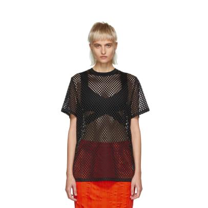 whitney nyfw essentials mesh t shirt