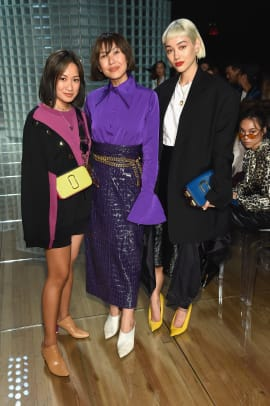 marc-jacobs-spring-2019-front-row-celebritieslaureen-uy-liz-uy-kim-cam-jones