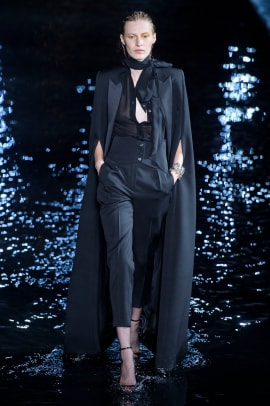 508e4868252 Anthony Vaccarello's Glam-Rockers Walk on Water at Saint Laurent ...