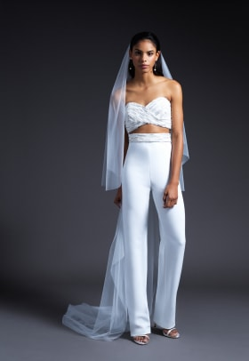 cushnie-bridal-fall-2019-wedding-dress-jumpsuit