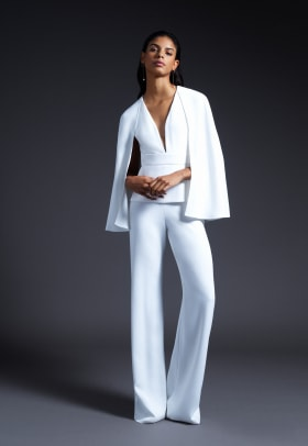 cushnie-bridal-fall-2019-wedding-dress-pantsuit