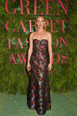 amber valletta green carpet awards