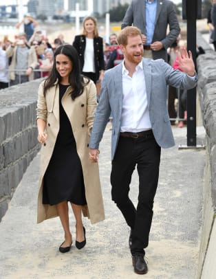Meghan Markle Wore A Thing Reformation Dress In Australia