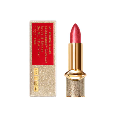 pat mcgrath blitztrance lipstick rebel red
