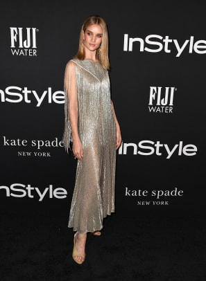 rosie huntington whiteley instyle red carpet