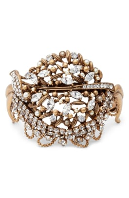 badgley mischka crystal bracelet