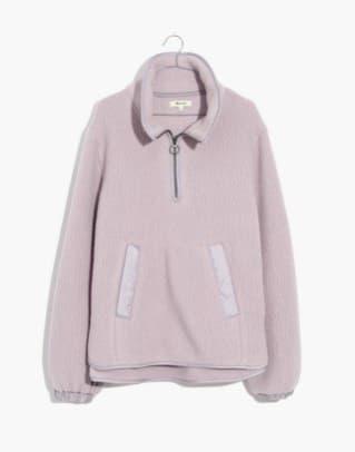 madewell-polartec-fleece-popover-jacket