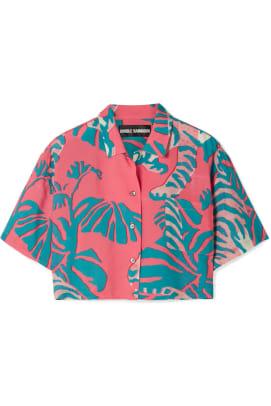 double-rainbouu-cropped-printed-poplin-shirt