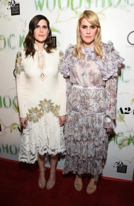 2Laura and Kate Mulleavy in Forevermark Diamonds at the Premiere of Woodshock