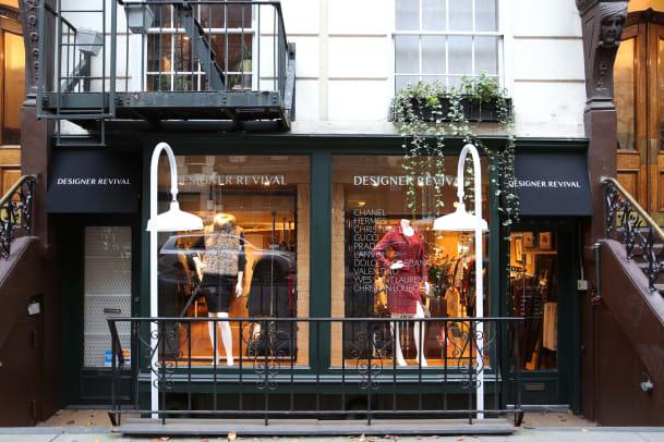 designer revival store front