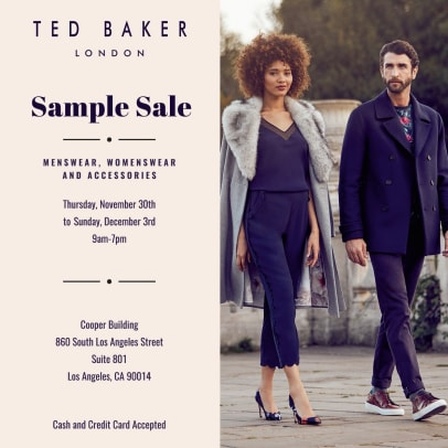 Ted Baker Flyer