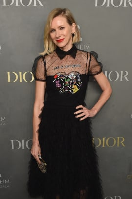 naomi watts dior dress