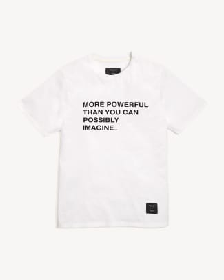 Powerful Tee in White