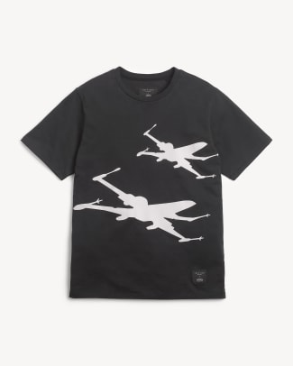 X-Wing Tee in Black