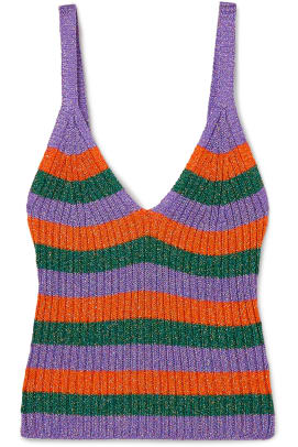 ganni-striped-tank