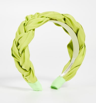 jennifer behr lorelei headband acid green