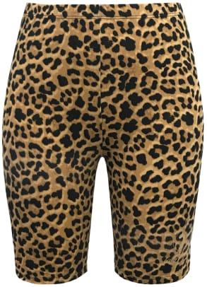 baby-phat-forever-21-leopard-biker-shorts