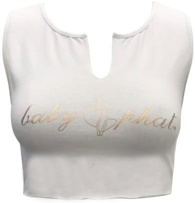 baby-phat-forever-21-white-v-neck-crop-top