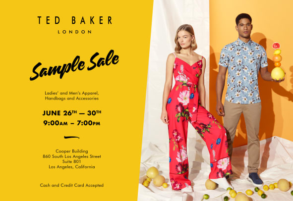 Ted Baker _ Public Invite
