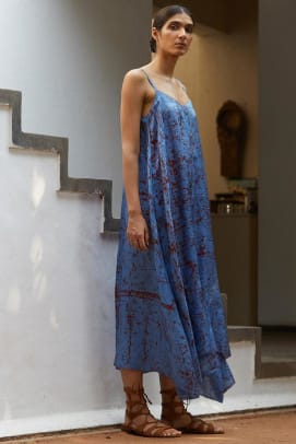 the summer house batik dress