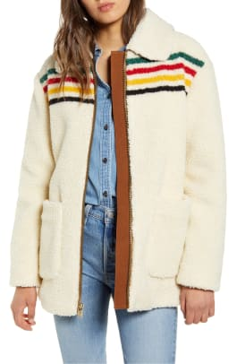pendleton-glacier-sunset-water-fleece-coat