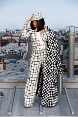 Cardi B Chanel Spring 2020 by Julien Hekimian:Getty Images