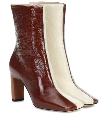 wandler sqaure toe boots