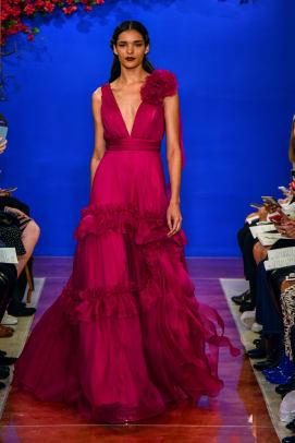 theia-bridal-fall-2020-wedding-dress-fuschia-ruffle