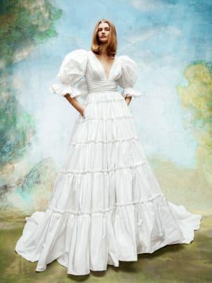 Viktor&RolfMariage-bridal-fall-2020-prairie-ruffle-wedding-dress