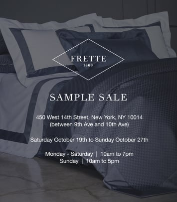 Frette Sample Sale Email