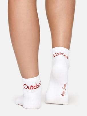 outdoor voices socks work from home