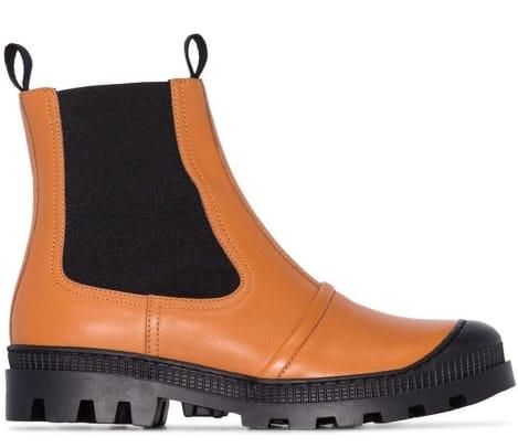 loewe lug-sole chelsea boot