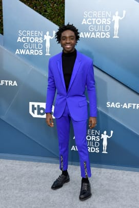 caleb mclaughlin 2020 sag awards