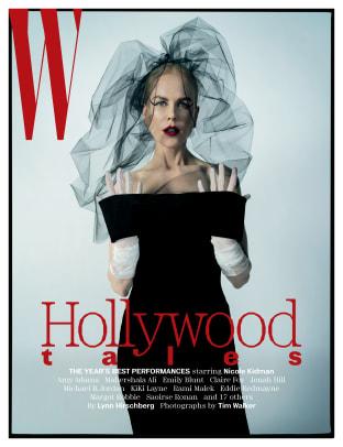 W Nicole Kidman Cover